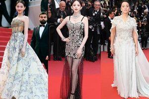 Loạt mỹ nhân 'vớt vát' hình ảnh cho Trung Quốc tại thảm đỏ Cannes 2019