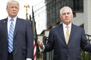 Trump chê trách, so sánh cựu Ngoại trưởng Mỹ Tillerson với hòn đá
