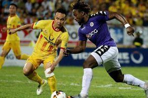 Thủ thành Tiến Dũng lần thứ 2 ra sân, Hà Nội thua sốc đội top cuối V-League