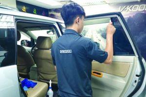 Vì sao dán phim chống nóng ô tô không hiệu quả?