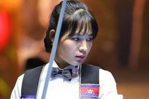 Thánh nữ Billiards Campuchia thua thê thảm tại Việt Nam