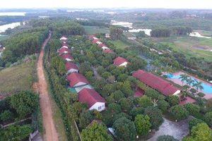 Ba Vì: Thông báo tháo dỡ công trình vi phạm trên đất dự án tại xã Ba Trại