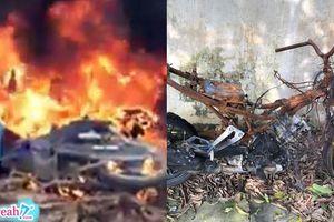 Phi vụ lỗ vốn: Hai thanh niên trộm chó bất thành còn bị cả làng đốt trụi xe máy 'làm gương'