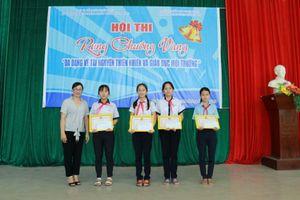 Học sinh Thừa Thiên Huế 'Rung chuông vàng' về tài nguyên thiên nhiên và môi trường