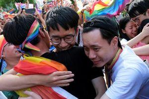 Đài Loan chính thức trở thành nơi đầu tiên ở châu Á hợp pháp hóa hôn nhân đồng giới