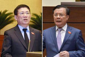 Tổng Kiểm toán tranh luận với Bộ trưởng Bộ Tài chính trên nghị trường