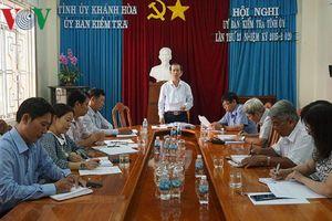 Khánh Hòa kỷ luật Phó Chủ tịch UBND thị xã Ninh Hòa