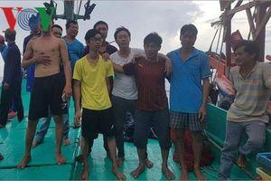 11 ngư dân ở Phú Quốc nhảy xuống biển đã được cứu vớt an toàn