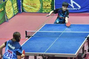 Ngày thi đấu nổi bật của cây vợt 15 tuổi Trần Mai Ngọc