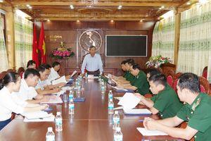 Giám sát ''Về công tác dân vận của chính quyền'' của Đảng ủy BĐBP Kon Tum