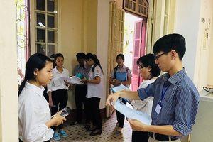 Thí sinh thi phổ thông Quốc gia được mang theo máy ghi âm, ghi hình