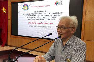 Nhà giáo Hà Nội thay đổi vì trường học hạnh phúc