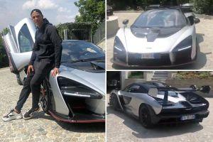 Giữa cáo buộc hiếp dâm, Ronaldo vung tiền mua siêu xe