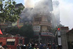 Cháy cửa hàng kinh doanh ga, đồ điện 4 tầng khu trung tâm TP Thanh Hóa