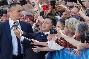 Tân Tổng thống Ukraine bổ nhiệm diễn viên, bạn thân vào nội các mới