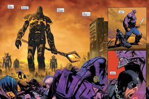 Old King Thanos - Vị vua hùng mạnh thống trị vũ trụ với thú cưng Hulk là ai?