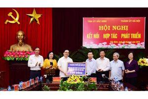 Tăng cường kết nối, hợp tác, phát triển giữa Hà Nội và Bắc Ninh