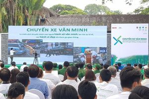 Phát động chiến dịch 'Chuyến xe văn minh' tại TP. Hồ Chí Minh