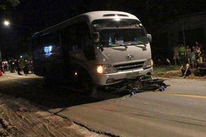 Hai người đàn ông tử vong tại chỗ sau tai nạn liên hoàn