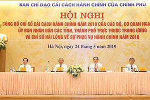 Bộ Công Thương xếp thứ 5/18 Bộ, ngành về chỉ số cải cách hành chính