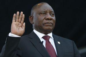Tổng thống Nam Phi Ramaphosa tuyên thệ nhậm chức