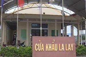 Thông tin 'bôi trơn' tại Cửa Khẩu La Lay: Đình chỉ 4 công chức hải quan để làm rõ
