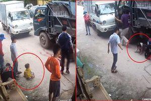 Bé gái 14 tuổi chết thảm dưới bánh xe ben, 2 em nhỏ bò ra từ gầm xe thoát chết thần kỳ