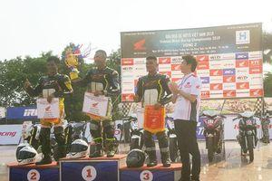 4 tay đua về Nhất vòng 2 Giải đua xe mô tô Việt Nam 2019