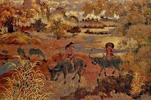 Tác phẩm 'Mục đồng chăn trâu thổi sáo' trở về quê hương sau thời gian chu du ở xứ người