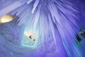 Hang băng 3 triệu năm không tan ở Trung Quốc