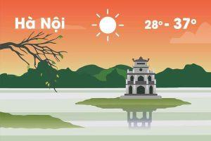 Thời tiết ngày 26/5: Bắc Bộ và Trung Bộ tiếp tục nắng nóng gay gắt