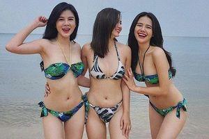 Bộ ba sinh năm 1990 thân thiết và nổi tiếng của làng hot girl Hà Thành