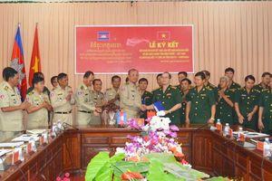 Đối ngoại Biên phòng góp phần bảo vệ chủ quyền lãnh thổ