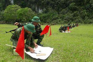 BĐBP Nghệ An: Tổ chức kiểm tra '3 tiếng nổ' cho 120 chiến sỹ mới