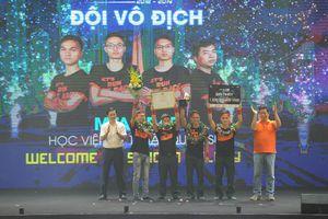 Đua xe tự lái, 4 sinh viên nhận giải thưởng 1,2 tỉ đồng