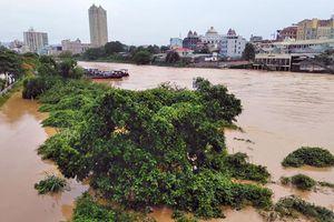 Thành phố vùng biên Móng Cái ngập nặng, 1 người mất tích