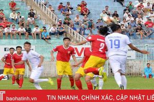 Hồng Lĩnh Hà Tĩnh thắng thuyết phục An Giang 2-0 trên sân khách