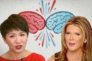 Người dẫn chương trình truyền hình Mỹ - Trung 'tham chiến' thương mại