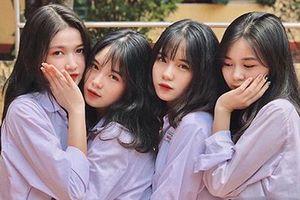 Khoe ảnh trong lễ tổng kết năm học, 4 nữ sinh ở Yên Bái chiếm mọi spotlight vì ngoại hình cực xinh đẹp