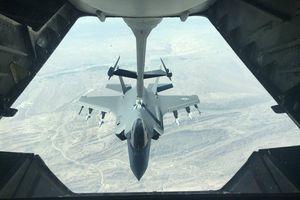 Tiêm kích tàng hình F-35 bật chế độ 'quái thú', khoe sức mạnh trên bầu trời Trung Đông