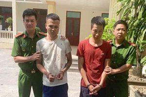 Thanh Hóa: Bắt giữ 2 đối tượng dùng súng, lưỡi lê tấn công cảnh sát hình sự