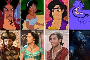 Tìm hiểu dàn diễn viên thủ vai chính trong 'Aladdin' live-action 2019 so với phiên bản hoạt hình 1992