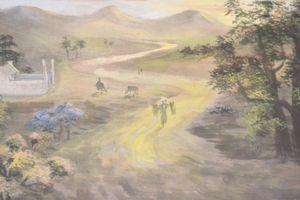 Lê Chuyền - Họa sĩ công nhân vẽ tranh dưới bom đạn