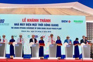Khánh Hòa: Khánh thành nhà máy điện mặt trời Sông Giang