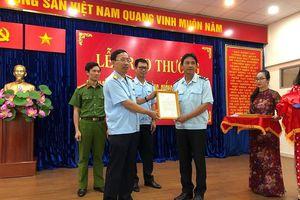 Hải quan công bố thư khen của Phó Thủ tướng