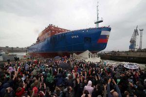 Nga hạ thủy tàu phá băng chạy bằng năng lượng hạt nhân mới