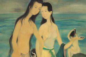 Những bức tranh về vẻ đẹp thiếu nữ Việt có giá bán kỷ lục