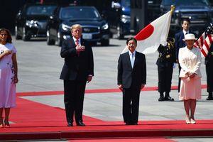 Tổng thống Trump hội kiến Nhật hoàng Naruhito tại Hoàng cung