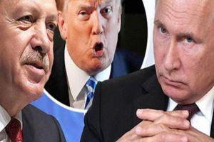 Thổ Nhĩ Kỳ khốn khổ bị Nga, Mỹ dồn ép ở Syria
