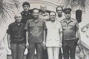Trung tướng Vũ Xuân Vinh và những dấu ấn với ngành đối ngoại quốc phòng